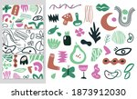 contemporary forms collection.... | Shutterstock .eps vector #1873912030