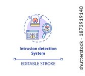 intrusion detection system... | Shutterstock .eps vector #1873919140