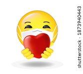 cute happy smiling cartoon...   Shutterstock .eps vector #1873940443