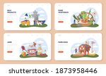 farm product web banner or... | Shutterstock .eps vector #1873958446