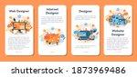 web design mobile application...