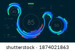 futuristic infographics... | Shutterstock .eps vector #1874021863