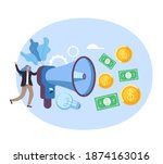 start up new business... | Shutterstock .eps vector #1874163016