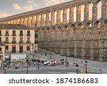 Segovia  Castilla Y Leon  Spain ...