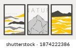 modern abstract minimal art... | Shutterstock .eps vector #1874222386
