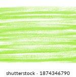 Grass Green Hand Drawn Dry...