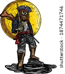 The Skull Pirate Wielded The...