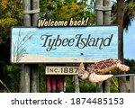 Tybee Island  Georgia  U.s.a  ...