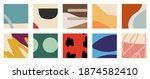 trendy social media set of ten...   Shutterstock .eps vector #1874582410