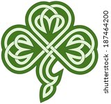 vector drawing of a celtic...   Shutterstock .eps vector #187464200