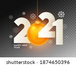 paper cut 2021 text with... | Shutterstock .eps vector #1874650396