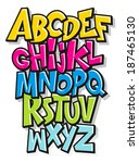 abc,alphabet,art,bright,calligraphy,cartoon,character,children,collection,colorful,comics,cute,design,doodle,font
