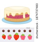 education paper game for... | Shutterstock .eps vector #1874737483