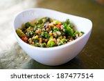 Raw Paleo Quinoa Kale Salad In...