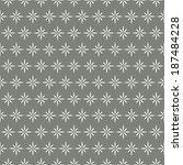 retro abstract vector seamless... | Shutterstock .eps vector #187484228