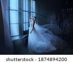 Fantasy Gothic Woman Ghost...