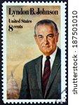 usa   circa 1973  a stamp... | Shutterstock . vector #187501010