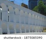 The Carioca Aqueduct Or Lapa...