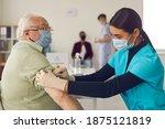 Black Woman Doctor Nurse In...