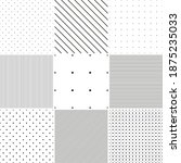 collection of vector geometric... | Shutterstock .eps vector #1875235033