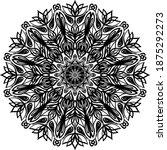 mandalas for coloring book.... | Shutterstock .eps vector #1875292273