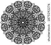 mandalas for coloring book.... | Shutterstock .eps vector #1875292276