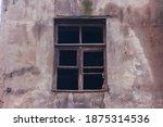 Broken Glass In The Windows Of...