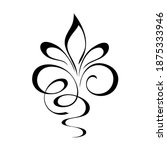 decorative abstract ornament...   Shutterstock .eps vector #1875333946