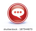 forum circular icon on white... | Shutterstock . vector #187544873