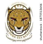 Cheetah Head Template Logo...