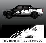 truck decal graphic wrap vector ...   Shutterstock .eps vector #1875549820