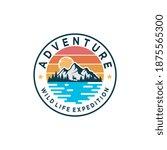outdoor adventures   wild life... | Shutterstock .eps vector #1875565300