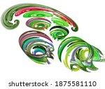 Multi Colored Swirls Are...