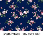 colorful beautiful shawl  scarf ... | Shutterstock . vector #1875591430