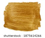 vector golden metallic paint... | Shutterstock .eps vector #1875614266