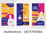 collection of social media... | Shutterstock .eps vector #1875704566