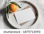 summer wedding stationery mock... | Shutterstock . vector #1875713593