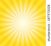 abstract vector sunburst... | Shutterstock .eps vector #187573328