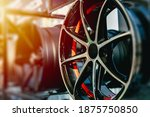Small photo of Wheel Alloy Wheels Rim or Mag Wheel high performance auto part decoration
