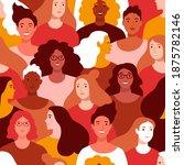 international women's day... | Shutterstock .eps vector #1875782146