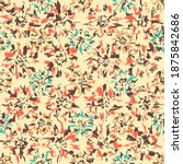 seamless abstract pattern with...   Shutterstock .eps vector #1875842686