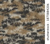 seamless abstract camouflaged... | Shutterstock .eps vector #1875884206