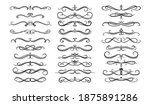 dividers  borders and frame... | Shutterstock .eps vector #1875891286