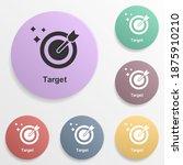 online marketing  target badge...