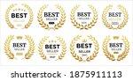 best seller icon designs set...   Shutterstock .eps vector #1875911113