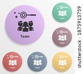 online marketing  team badge...