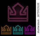 crown color neon set. simple...