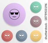 cool in sunglasses emoji badge...