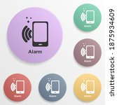 online marketing  alarm badge...