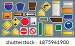 vector illustration of road... | Shutterstock .eps vector #1875961900